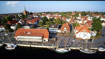 Neustadt in Holstein Luftaufnahme Drohne