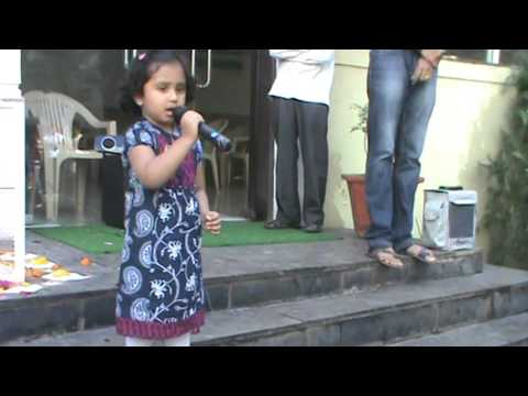National Song of India VANDE MATARAM by Veda - @ 3years