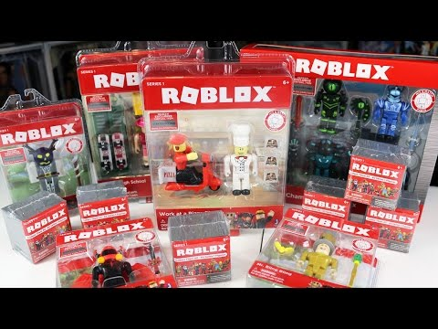 The Official Roblox Toys are Here!!! / High School, Work at a Pizza Place, Blind Bags