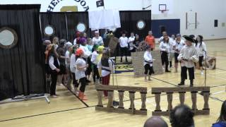 Pirate Musical Part 2 - Shenandoah Elementary, Middletown, IN April 2017