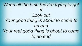 Mable John - Your Good Thing (Is About To End) Lyrics