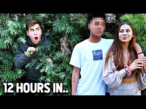 Spying On My Girlfriend For 24 Hours - Challenge