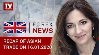 InstaForex tv news: 16.01.2020: Traders displeased with fragile US-China trade deal: outlook for USD/JPY, AUD/USD