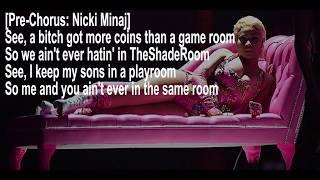 Nicki Minaj - Good Form ft. Lil Wayne (Lyrics Video)