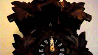 Smashed Cuckoo Clock Repaired And Working