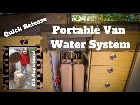 Simple Sink Water System - DIY Sprinter Camper Van