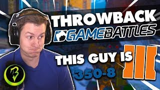 THROWBACK GameBattles (Black Ops 3) - This Guy Is 350-8!