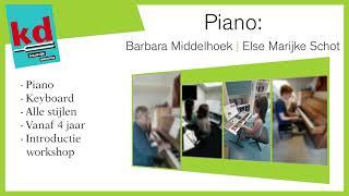 Piano Open Huis 2021