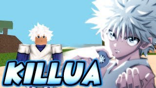 [EXCLUSIVE CODE] BECOMING KILLUA ZOLDYCK FROM HUNTER X HUNTER IN NINDO RPG: BEYOND! | Roblox