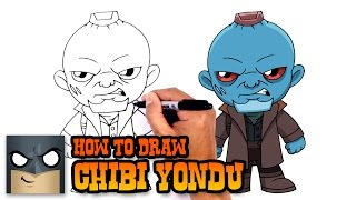 How to Draw Yondu | Guardians of the Galaxy