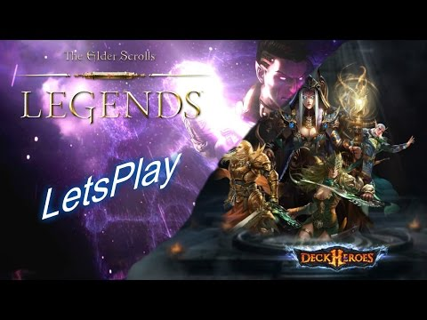 Deck Heroes & TES: Legends LetsPlay