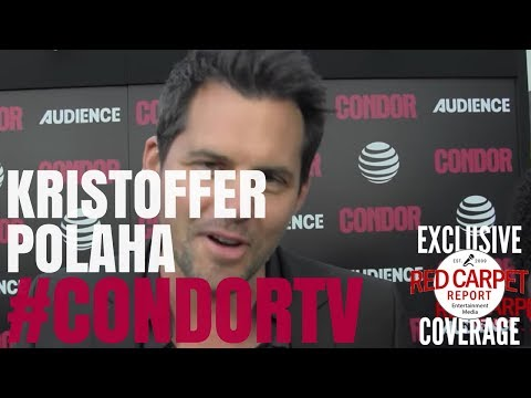 Kristoffer Polaha  at premiere of CondorTV spy thriller on AUDIENCEnetwork NowStreaming