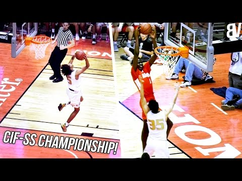 Mater Dei VS Bishop Montgomery CIF CHAMPIONSHIP! Ethan Thompson TOO MUCH for Bol Bol & Mater Dei!!!