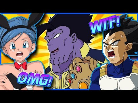 Bulma And Vegeta React To Dragon Avengers Infinity Ball Z! (FT Prince Vegeta)