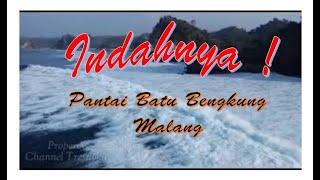 Pantai Batu Bengkung Malang Viral