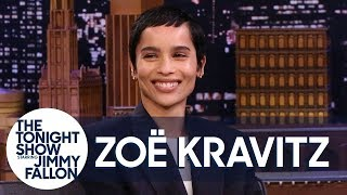 Zoë Kravitz On The Wedding Speech That Made Her Cry, Being Catwoman