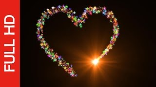 Love Shape Animation-Best Heart Particles Effects