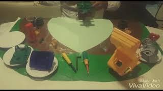Proceso de ensamble de un carrito de juguete mejorado