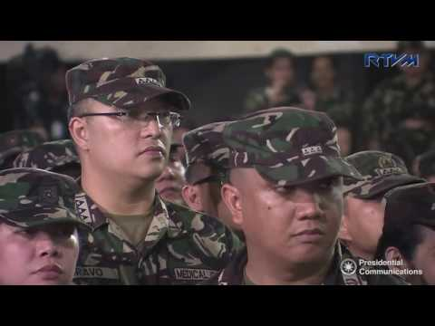 Talk to Men and Patients of the AFP Medical Center in Quezon City (Speech)