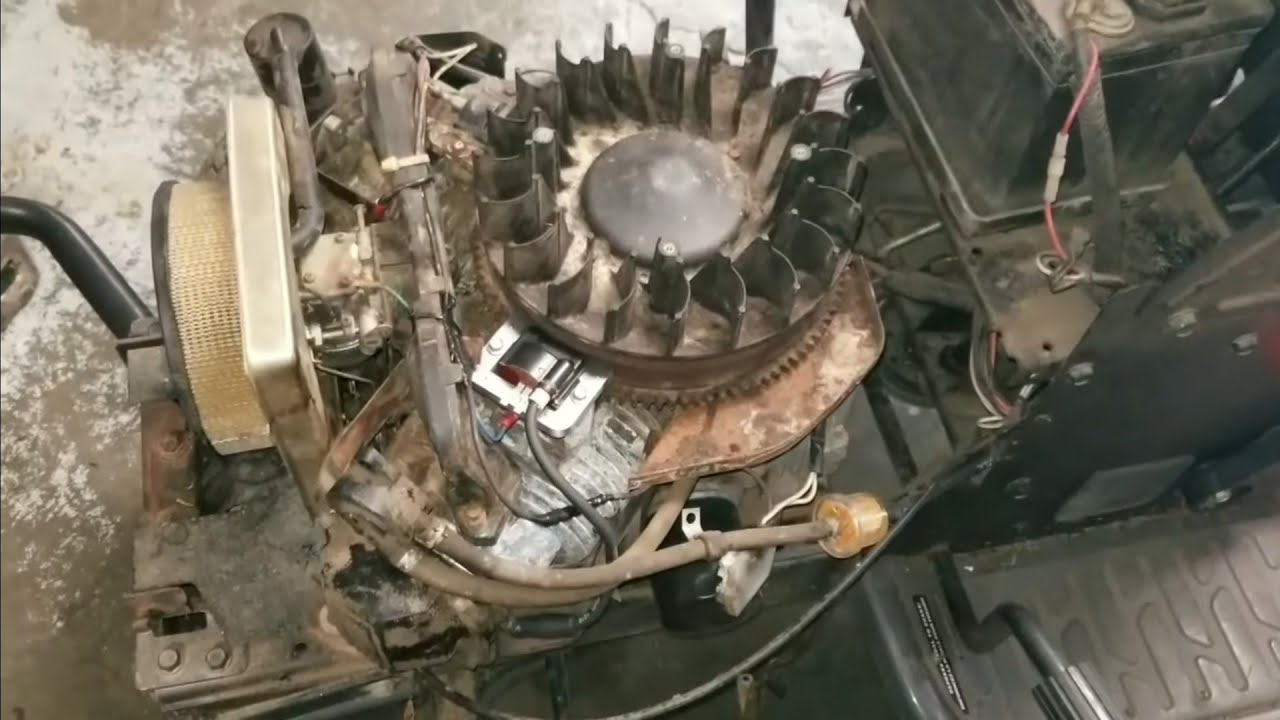 Kohler Command 25hp Carburetor cleaning troubleshooting repair on