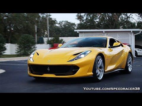 Ferrari 812 Superfast Walkaround and Cold Start