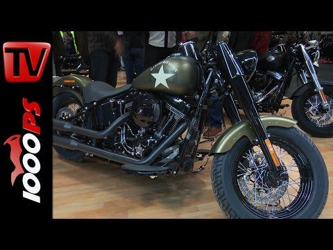 Harley-Davidson | Österreichpremiere Softail Slim S | Biker-S-World 2015