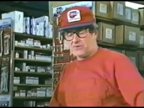 Early 90's CarQuest Training Video - Phone Answering YO PARTS!