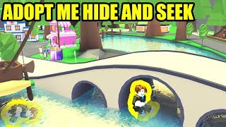 ULTIMATE HIDE AND SEEK with NEWFISSY!!! | Roblox Adopt Me