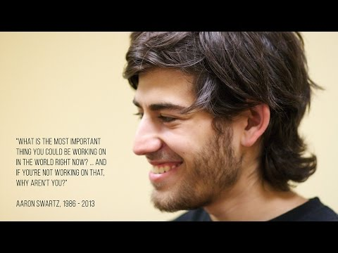 Aaron Swartz and the Rise of Free Culture on the Internet
