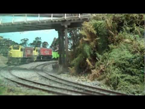 Motat Model Railway Layout Da Loco and DBR 1200 model