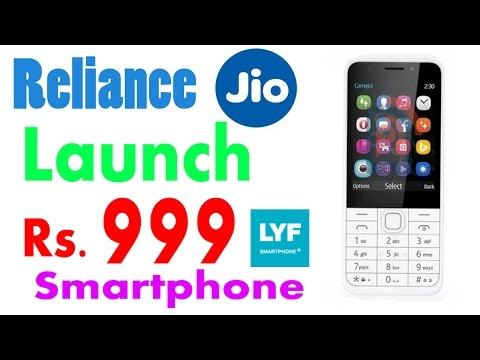 Reliance Jio Rs.999 Mobile 4G VoLTE