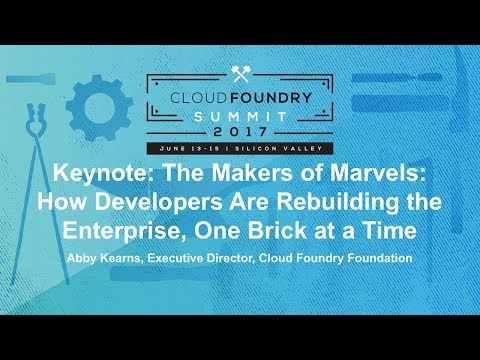 Keynote: The Makers of Marvels: How Developers Are Rebuilding the Enterprise, One Brick at a Time