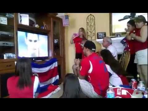 Costa Rica World Cup 2014 Ticos In California