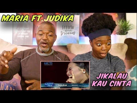MARIA FT. JUDIKA - Jikalau Kau Cinta - Top 4- Indonesian Idol
