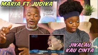 "MARIA FT. JUDIKA - ""Jikalau Kau Cinta"" - Top 4- Indonesian Idol"