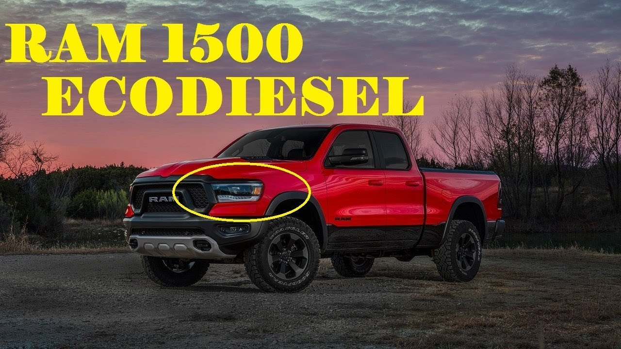 Dodge Ram 1500 Diesel >> 2019 RAM 1500 REVIEW [ECODIESEL] - YouTube