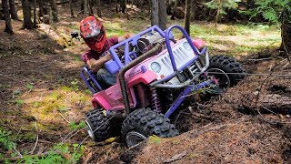 Barbie Jeep Gets a Real Winch...