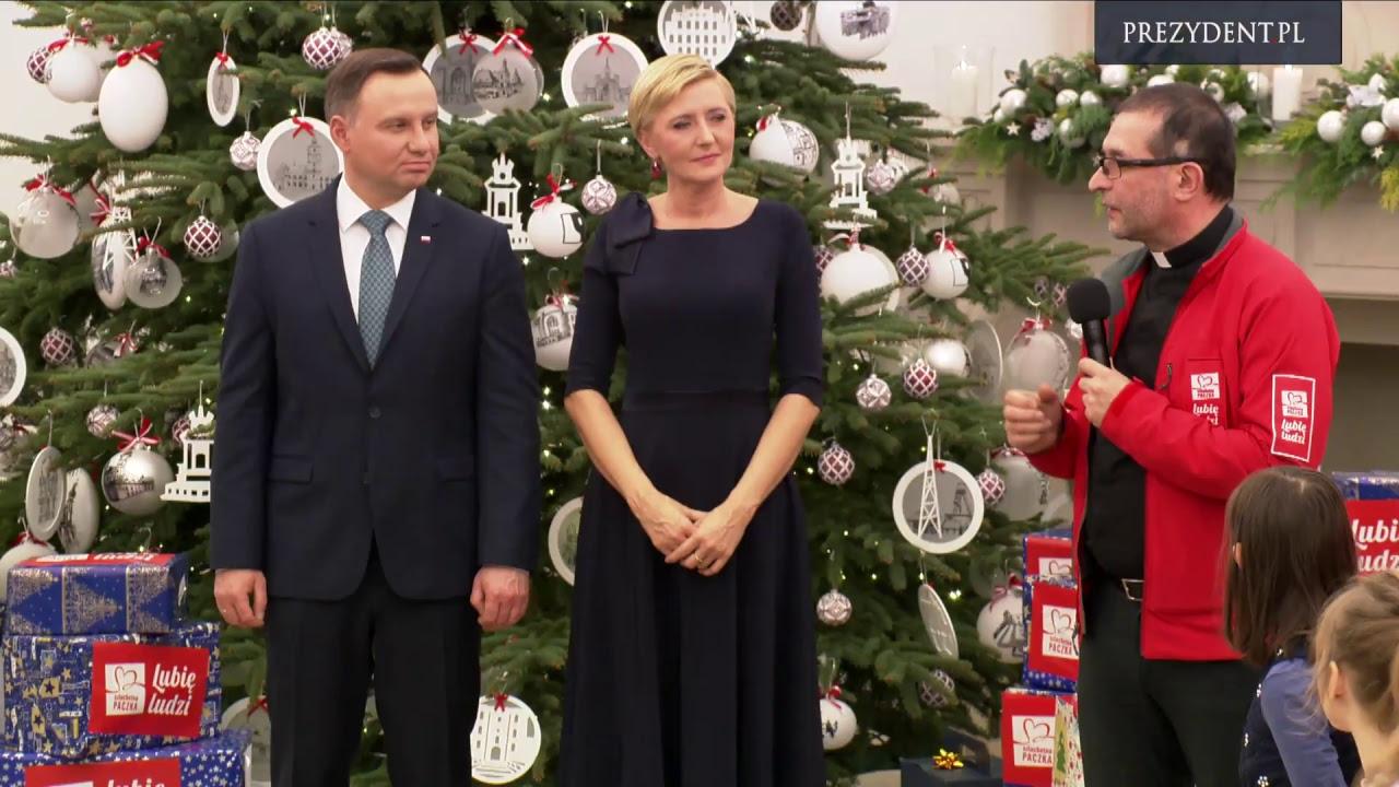 """Spotkanie Pary Prezydenckiej z organizatorami """"Szlachetna Paczka"""""""
