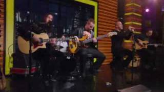 creed rain on live with regis and kelly 10 27 09