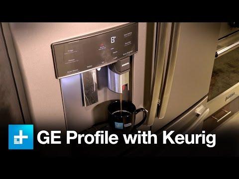 GE Profile Series Fridge with Keurig K-cup Dispenser - Review