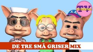 De tre små griser - og mye mer | Norske barnesanger som swinger