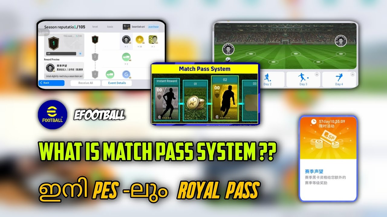 What is Match Pass & Season Pass In PES 2022 Full Details