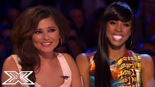 Judges Get FLIRTY With X Factor Contestants | X Factor Global