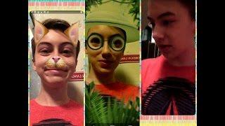 Hayden Byerly Maia Mitchell & Snapchat
