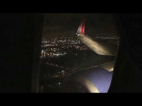 Southwest Airlines Landing in Columbus