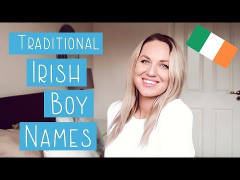 Irish Baby Boy Names With Pronunciation