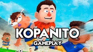 KOPANITO All-Stars Soccer - Football Indie Game! PC GAMEPLAY