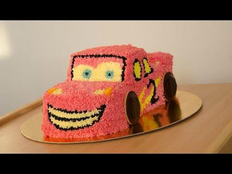 jak zrobić tort zygzak McQueen // how to make McQueen cake Cars