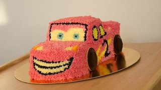 jak zrobić tort zygzak McQueen // how to make McQueen cake Cars