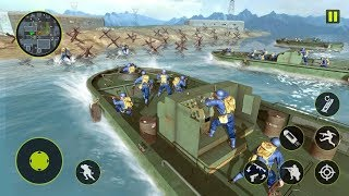 US Army WW2 Battleground Survival Shooting Game Android Gameplay